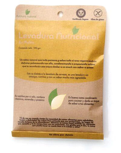 levadura nutricional en polvo